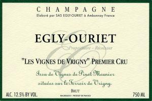 Egly Ouriet 1er Cru Brut Vignes de Vrigny