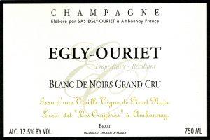 Egly Ouriet Grand Cru Blanc de Noirs Les Crayeres