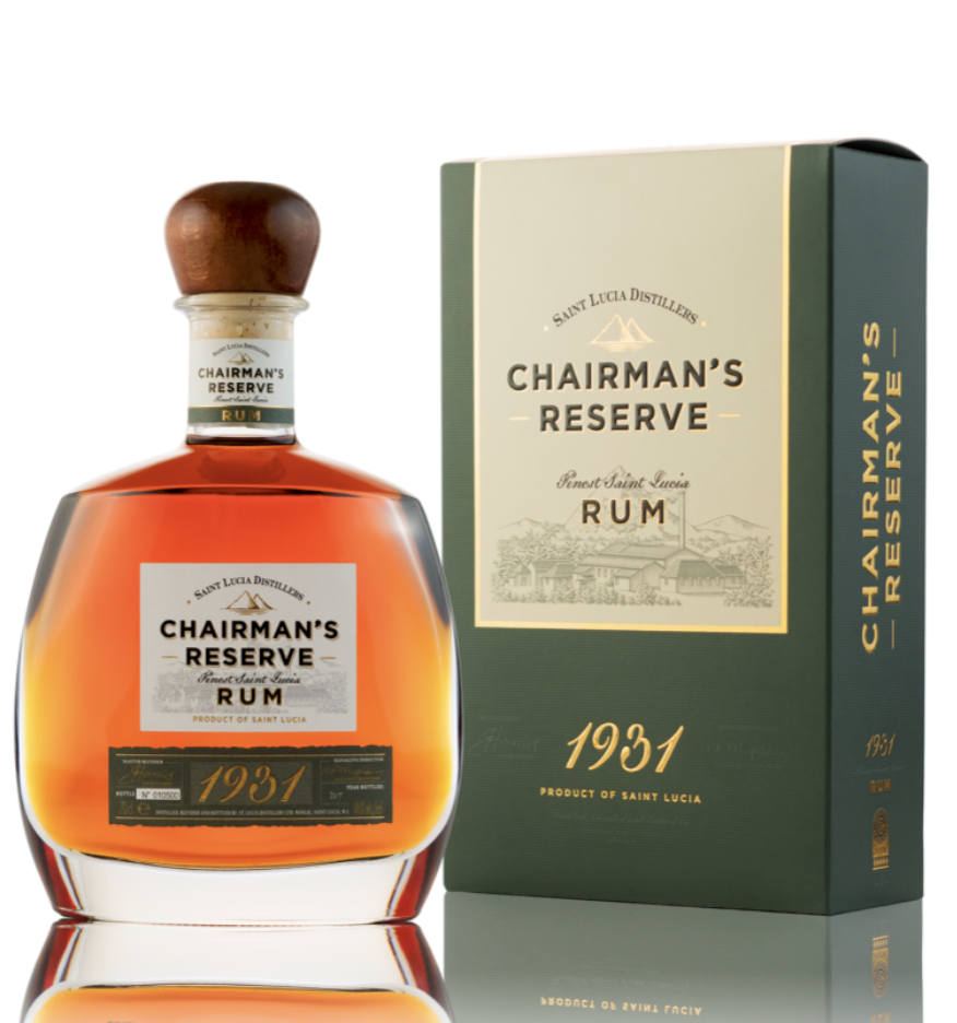 Chairman's Reserve '1931' Rum, St. Lucia Distillers