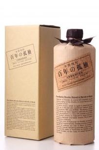 Barrel-Aged Barley Shochu, 'Hyakunen No Kodoku - 100 Years of Solitude', Kuroki Honten Distillery
