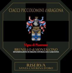 Brunello di Montalcino Riserva 'Pianrosso', Ciacci Piccolomini [wood]