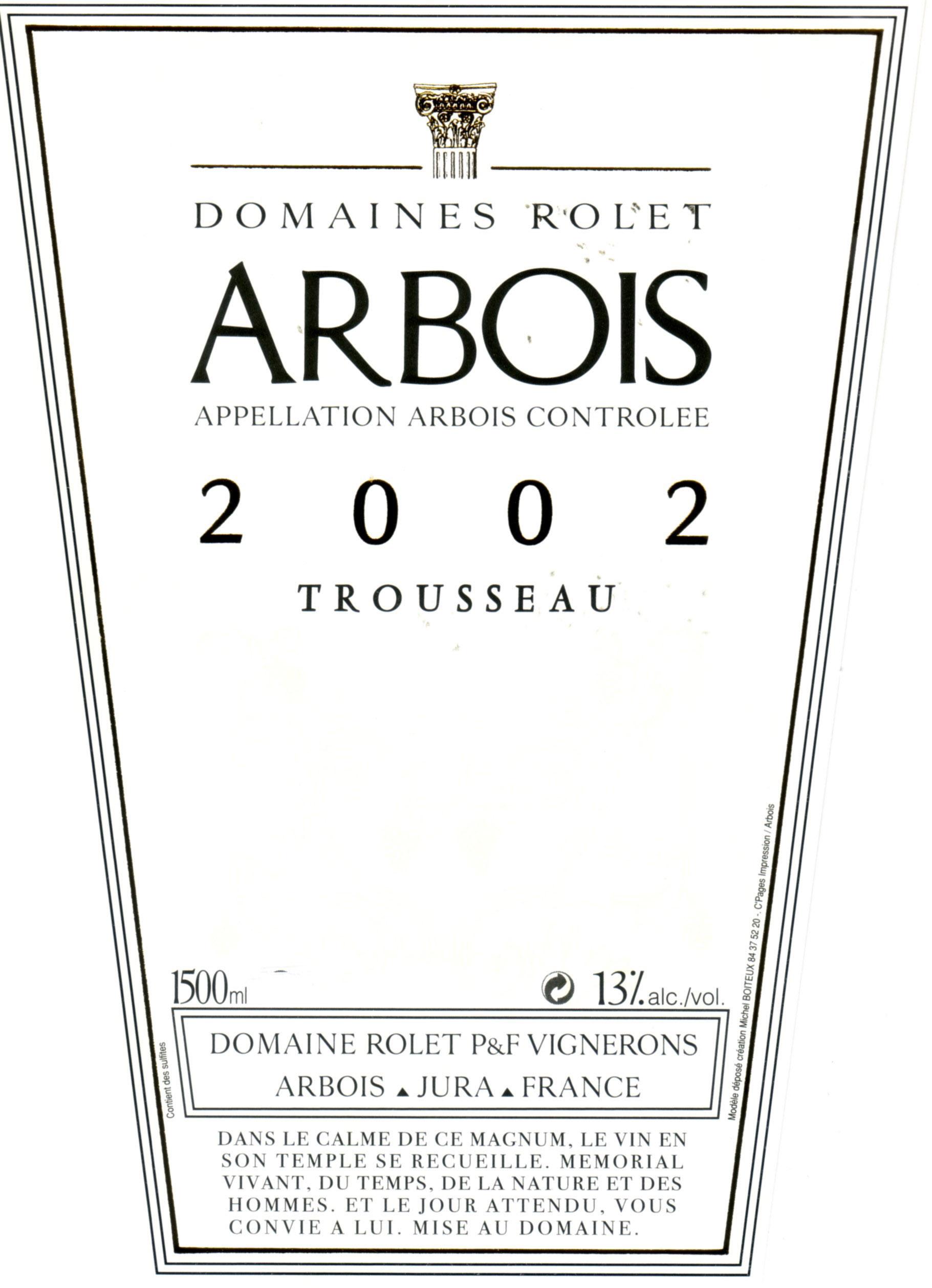 Rolet Arbois