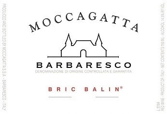 Barbaresco 'Bric Balin', Moccagatta