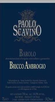 Barolo 'Bricco Ambrogio', Paolo Scavino