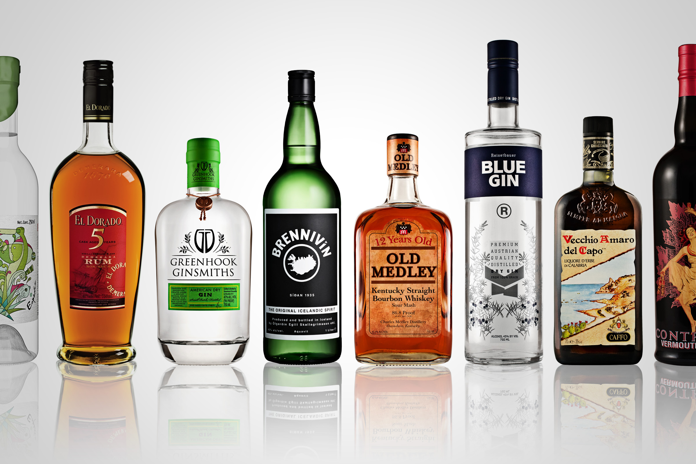 how to choose type of bottle spirits
