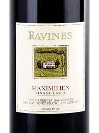 Red Bordeaux Blend 'Maximilien', Ravines