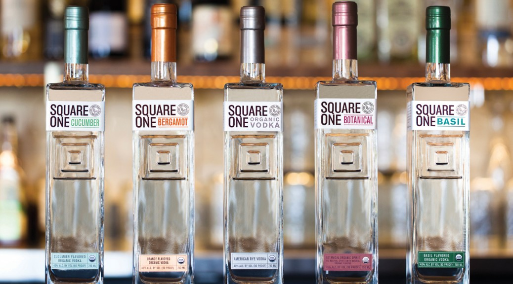 Square One Organic Vodka: Inspired by the Garden and the Art of Mixology