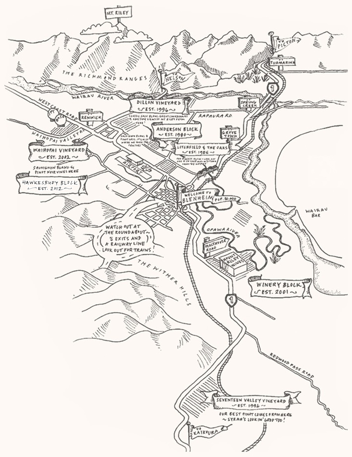 Mount Riley Map