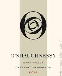 Cabernet Sauvignon 'Napa Valley', O'Shaughnessy
