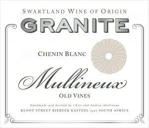Chenin Blanc 'Granite', Mullineux 1