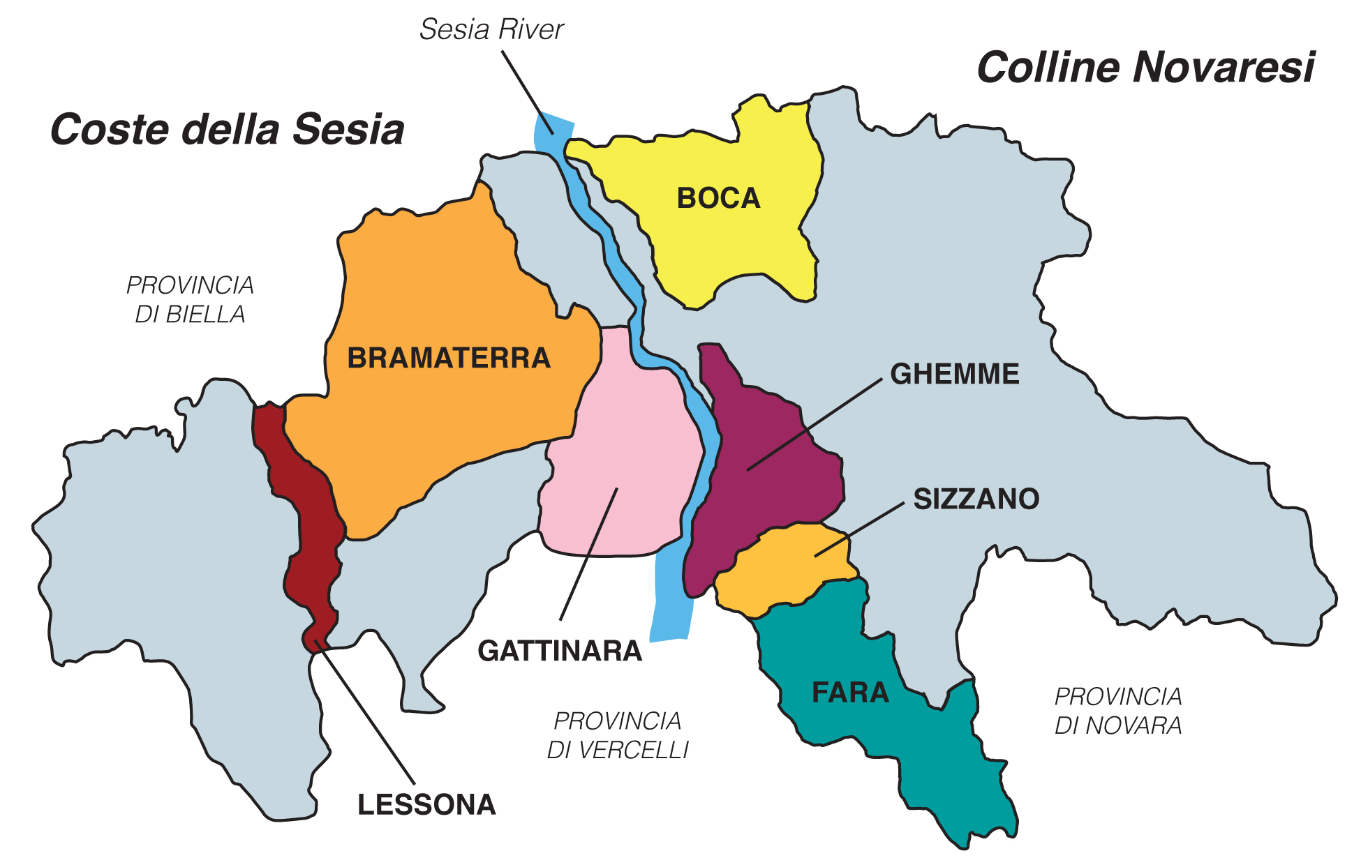 Image result for alto piemonte wine map