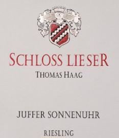 Brauneburger Juffer Sonnenuhr Riesling Kabinett, Schloss Lieser