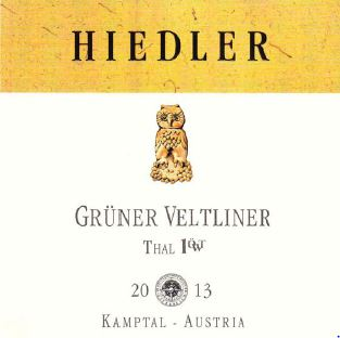L. Hiedler Ried Thal Kamptal DAC Grüner Veltliner