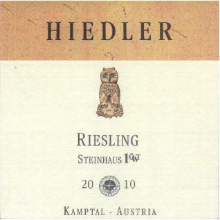 L. Hiedler Ried Steinhaus 1 ÖTW Kamptal DAC Riesling