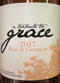 A Tribute to Grace Dry Rosé of Grenache 2019