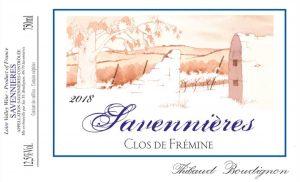 Savennieres 'Le Clos de Fremine', Thibaud Boudignon 1