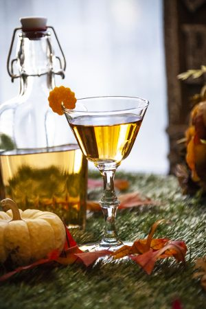 Pumpkin Milk Punch