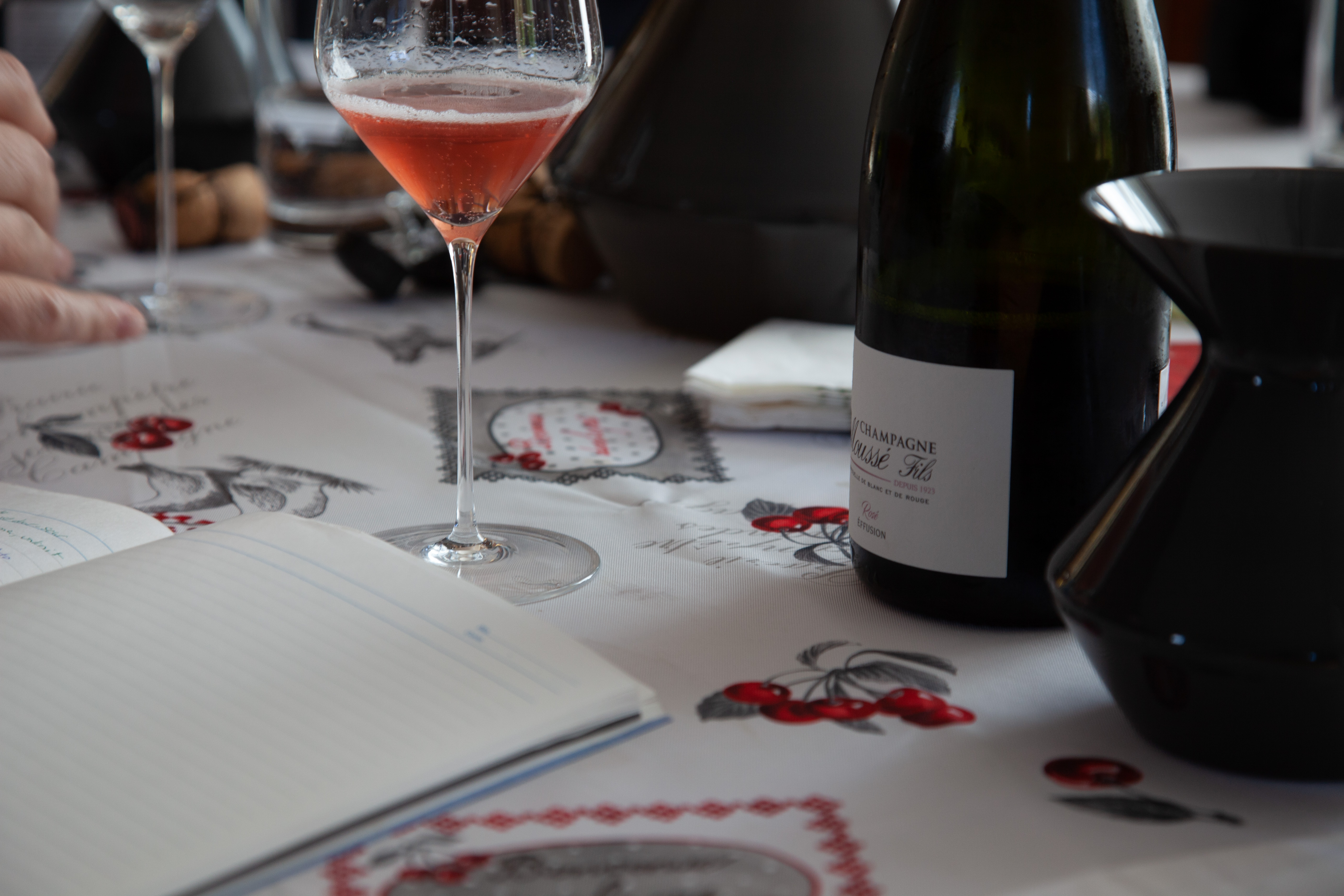 St Malo Fil Rouge champagne's spécial club: new releases from outstanding